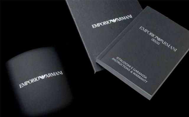 Фирменный интернет-магазин часов Emporio Armani в России