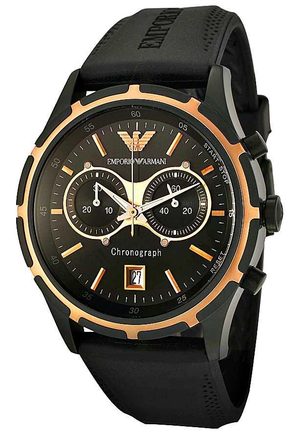 Мужские Часы Emporio Armani AR0584 Черные