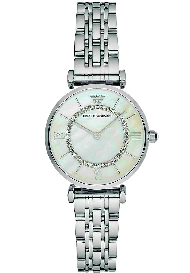 Часы Женские Emporio Armani AR1908 перламутровый циферблат
