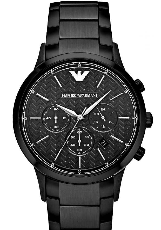 Часы Черные Мужские Emporio Armani Металлические AR2485