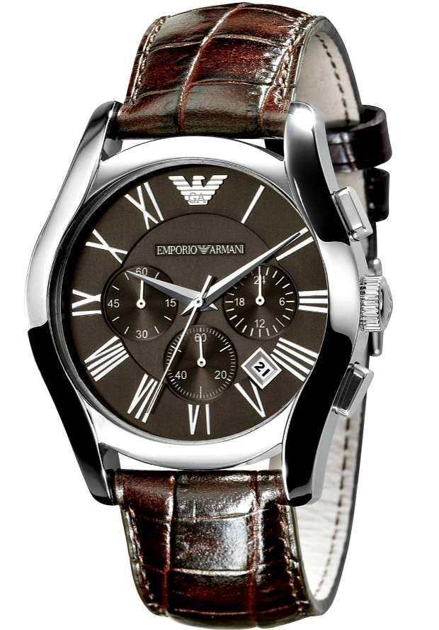 Часы Emporio Armani Мужские Коричневые AR0671