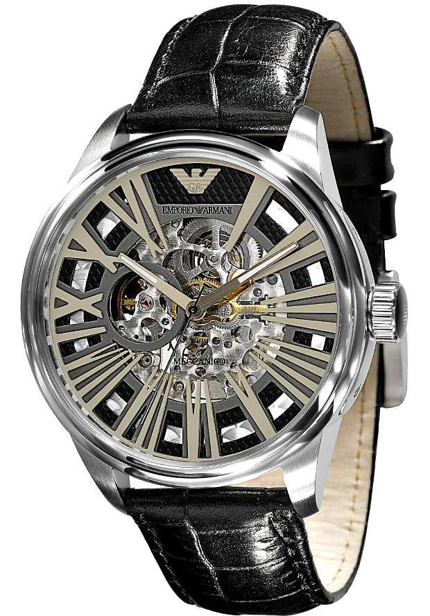 Часы Мужские Армани Механика Скелетоны AR4629