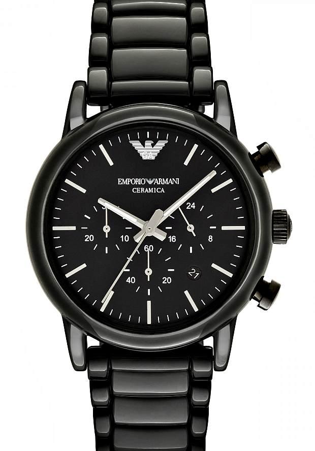 Керамические Мужские Часы Emporio Armani Черные AR1507