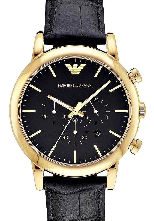 Наручные Мужские Часы Armani Оригинал Золотистые AR1917