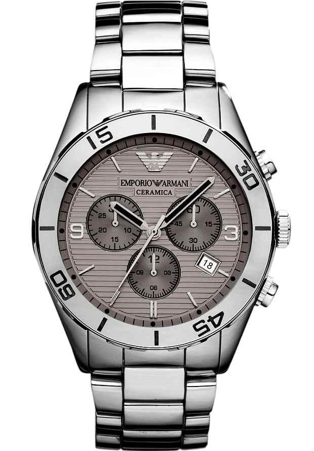 Наручные Мужские Часы Армани Керамика AR1462 с хронографом