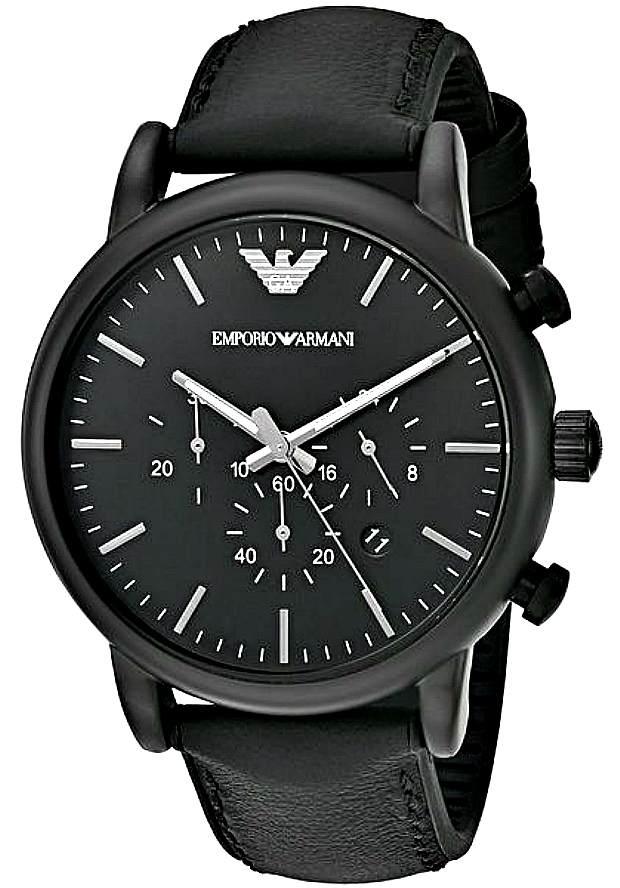 Часы Наручные Мужские Emporio Armani Черные AR1970