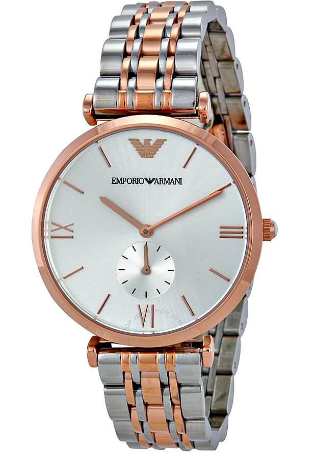 Часы Наручные Мужские Армани Оригинал Стальные AR1677