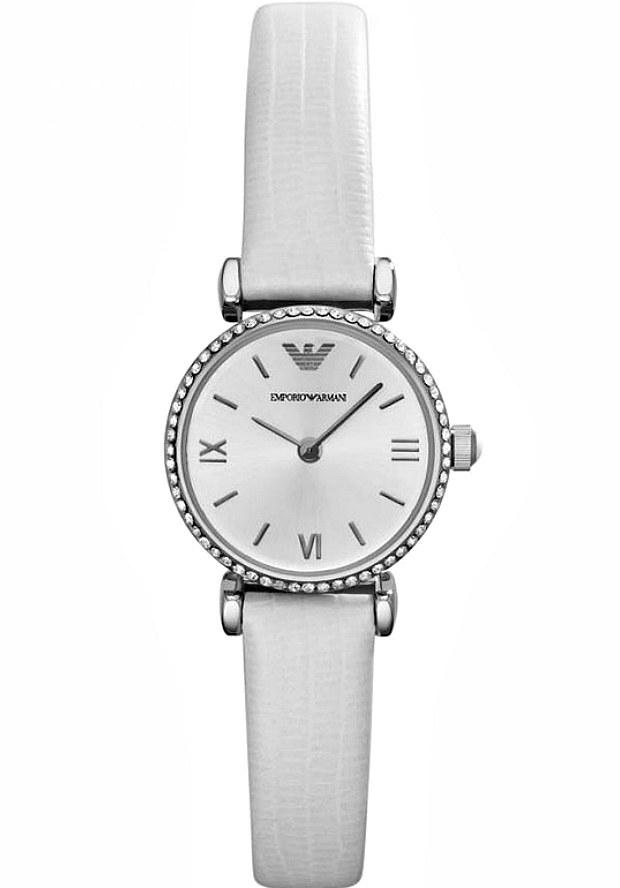 Белые Часы Женские Армани AR1686
