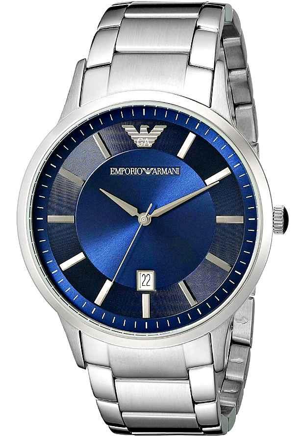 Мужские Наручные Часы Emporio Armani AR2477 с синим циферблатом