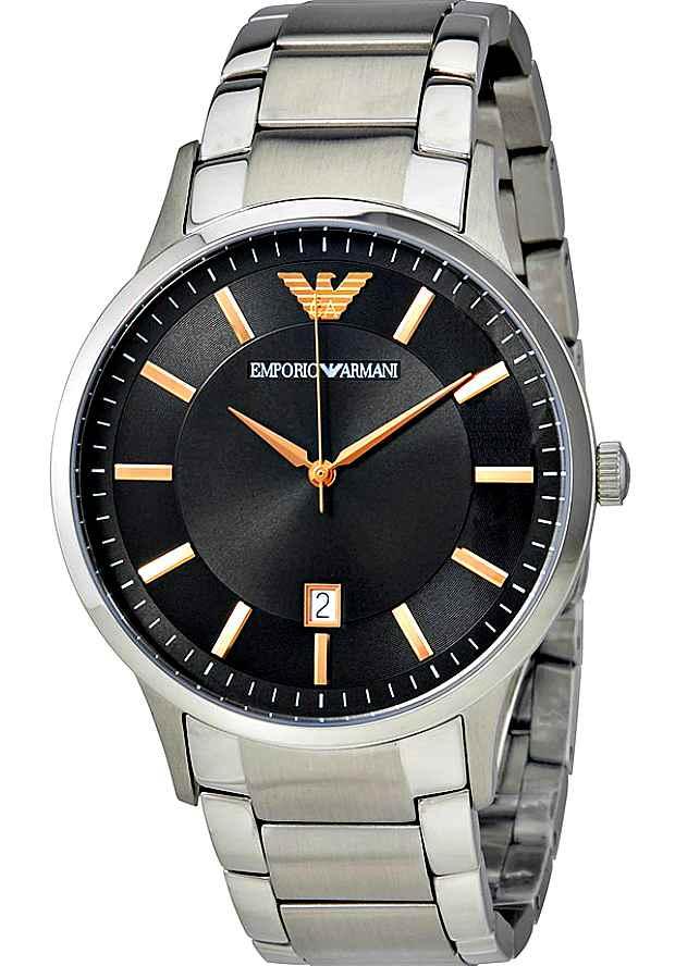 Наручные Мужские Часы Emporio Armani AR2514 с черным циферблатом