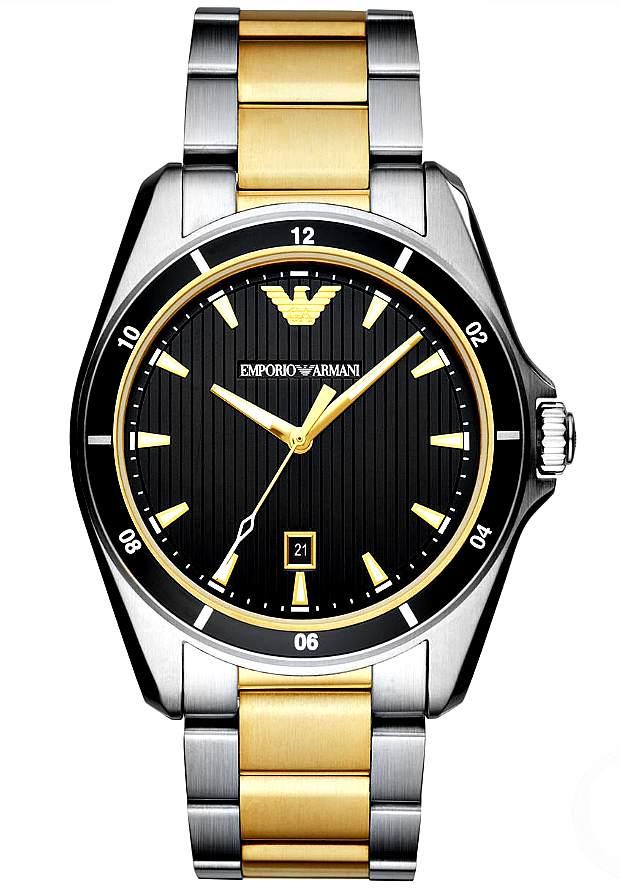 Часы Наручные Emporio Armani Мужские Стальные AR80017