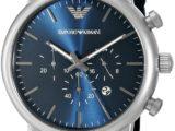 Мужские Часы Armani AR1949 Синий ремешок