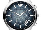 Часы Наручные Emporio Armani Мужские AR2473 синий циферблат