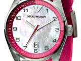 Розовые Часы Женские Emporio Armani AR5880