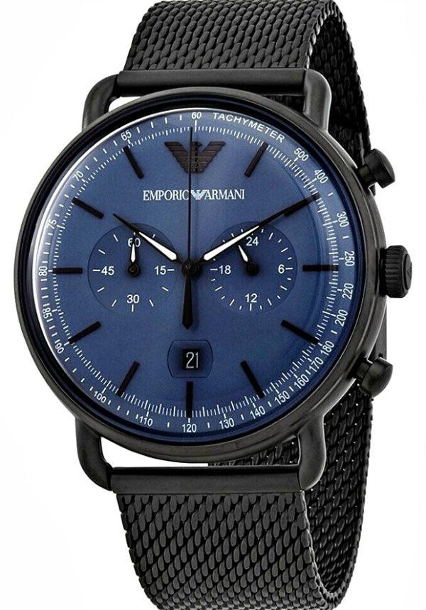 emporio_armani_chronograph_quartz_blue_dial_mens_watch_ar11201